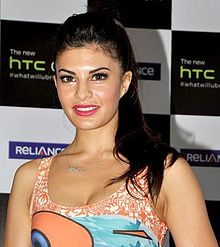 Jacqueline Fernandez poses for the camera.