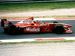 Jacques Villeneuve podczas Grand Prix Włoch 1998.