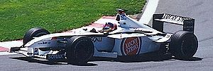 BAR 003 - Image: Jacques Villeneuve 2001 Canada
