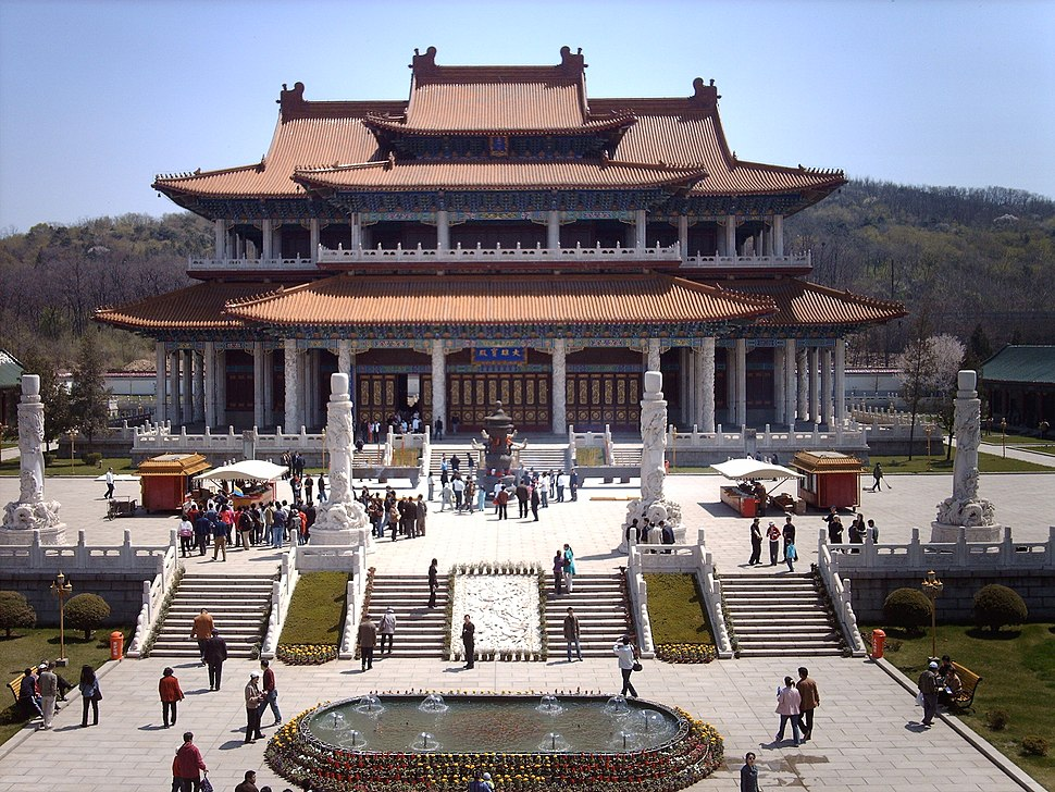 Jade Buddha Palace in Anshan