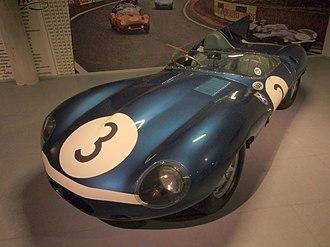 1957 24 Hours of Le Mans - The race winning Jaguar D-Type of Flockhart/Bueb
