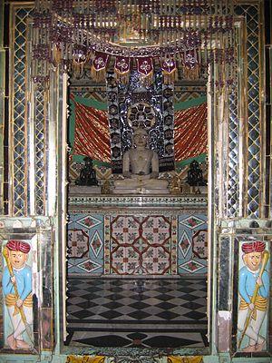 Jaora - Jain mandir, Jaora