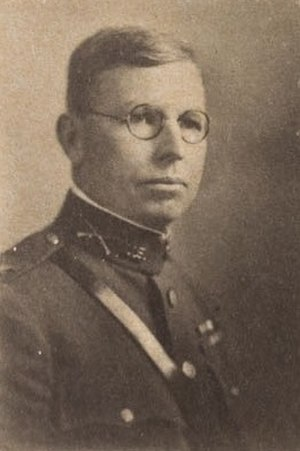 James K. Parsons - Parsons as a Naval War College student in 1925.