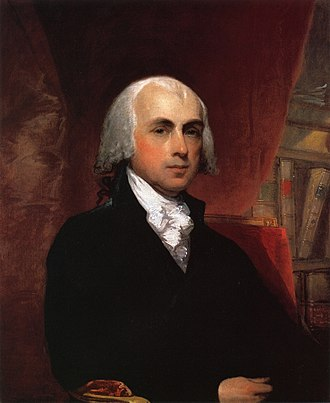 1788 and 1789 United States House of Representatives elections - Image: James Madison by Gilbert Stuart 1804