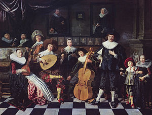 Jan Miense Molenaer - Family making Music, 1635-6.