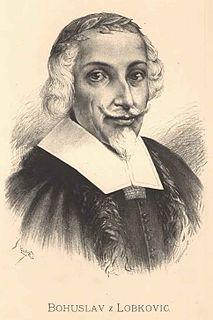 Bohuslav Hasištejnský z Lobkovic Czech poet, traveller, humanist and satiricist