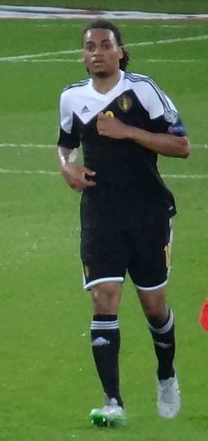 Jason Denayer - Denayer playing for Belgium in 2015