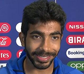 Jasprit Bumrah Indian cricketer
