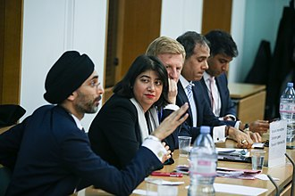 City Sikhs - Jasvir Singh OBE Chairing the City Sikhs Politics in the City 2018 in Parliament