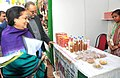 "Jayanthi Natarajan visiting the ""Green Haat"", organized by the Ministry of Environment & Forest to raise awareness on the rich forest and bio diverse heritage of the country among the growing urban population often living (1).jpg"