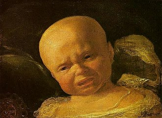 Early life of Pedro II of Brazil - Pedro as an infant.