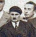 Jean Piot en août 1932, (au retour des JO, double médaillé d'or par équipes en escrime).jpg