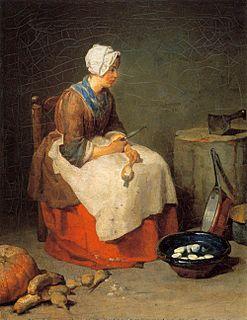 painting by Jean Simeon Chardin
