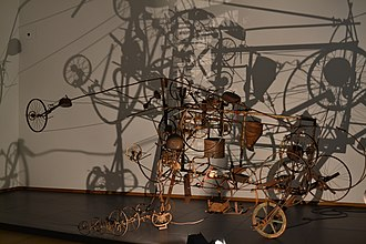 Jean Tinguely - Image: Jean Tinguely's parade at Stedelijk Museum Amsterdam