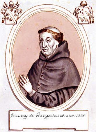 Jean de La Grange - Jean de La Grange, circa 1375.
