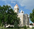 Jefferson County, Nebraska courthouse from NE 1.JPG