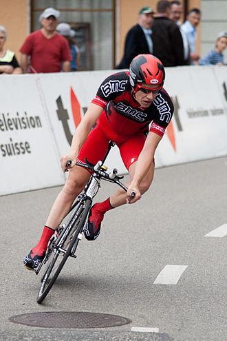 Jeff Louder - Image: Jeffry Louder Tour de Romandie 2010, Stage 3