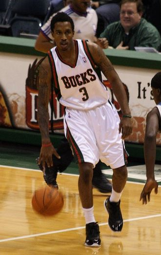 NBA high school draftees - Brandon Jennings spent a year playing in Italy before entering the NBA