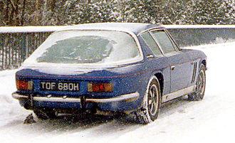 Jensen FF - Image: Jensen FF mk 11 in snow (cropped)