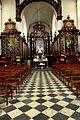 Jezus-Eik (Belgique). Notre-Dame-au-Bois. Vue de la travée jusqu'au chœur. 2011 (MINNE Cécile)..jpg