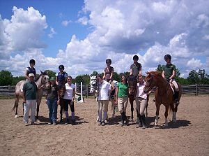Jim Elder - Image: Jim Elder at the Ballycroy Equestrian Center