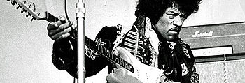 English: Jimi Hendrix at the amusement park Gr...