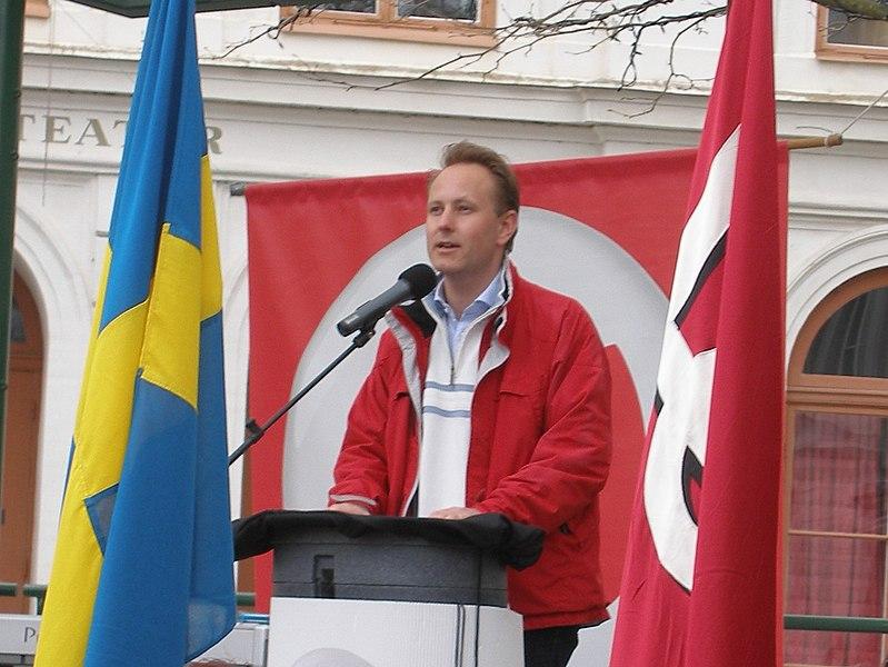 File:Johan Persson vid första maj i Kalmar 2008.JPG