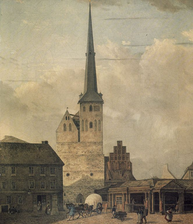Nikolaikirche, um dos prédios mais antigos de Berlim
