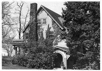John Philip Sousa House - Image: John Philip Sousa House NPS NRHP photo Greenwood 1975