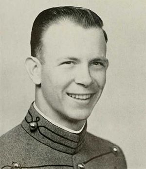 "John Bahnsen - John C. ""Doc"" Bahnsen as a Senior at West Point, 1956"