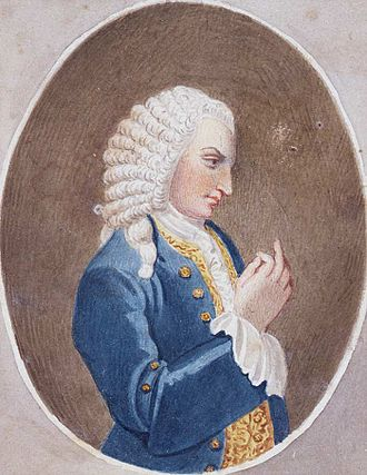 John Rich (producer) - John Rich, from a print produced in 1750