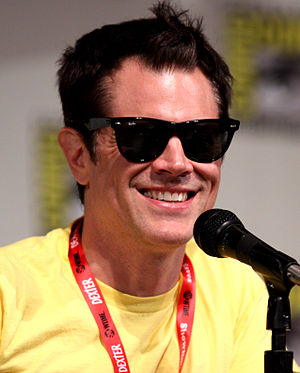 English: Johnny Knoxville at the 2011 Comic Co...
