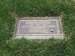 John Ritter's gravestone
