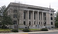Johnston County, NC courthouse from NE 1.JPG