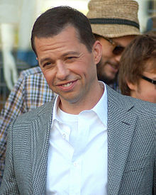 Jon Cryer rebent una estrella en el Hollywood Walk of Fame (2011)