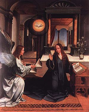 Portuguese art - Annunciation, by Jorge Afonso