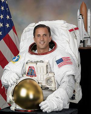 English: Astronaut Joseph Acaba, mission speci...