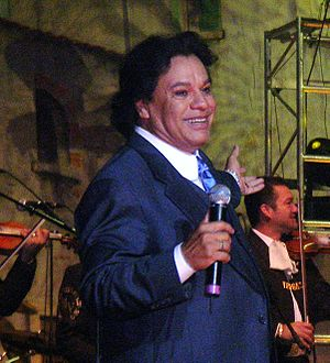 Juan Gabriel -  Juan Gabriel at the 2006 San Jose Mariachi Festival