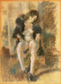 JulesPascin-1926-Girl Dressing Black Vest.png