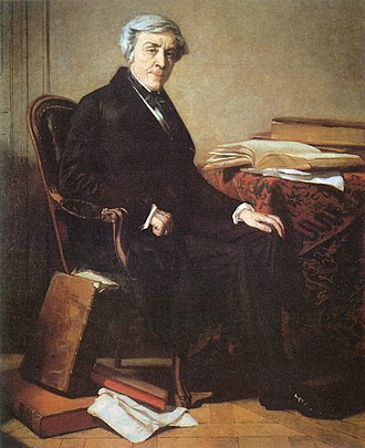 Jules Michelet - Portrait of Jules Michelet by Thomas Couture