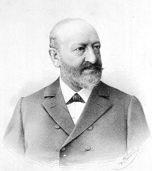 Julius Wiesner - Julius Wiesner in 1895.