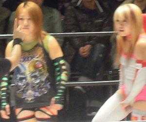 Dash Chisako - The Jumonji sisters in December 2010