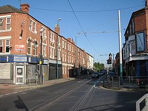 Hyson Green - Image: Junction of Radford Road and Berridge Road geograph.org.uk 1507154