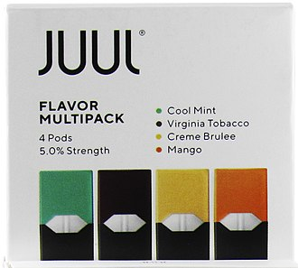 Juul - After the FDA investigation on youth vaping, Juul reduced the promotion of some sweet flavors.