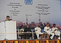 Jyotiraditya Madhavrao Scindia addressing at the dedication ceremony of NTPC's 2980 MW Rajiv Gandhi Sipat Super Thermal Power Station to the Nation and Foundation Stone laying of 1600 MW Stage-I of NTPC- Lara Super Thermal.jpg