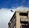 Jyväskylä - Finnish flag.jpg