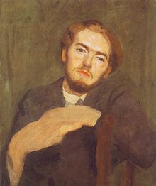 Károly Ferenczy painter (1862-1917) Portrait of Béni Ferenczy 1912.jpg
