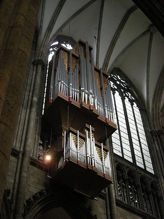 Cologne Cathedral organs - The nave organ