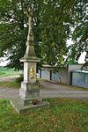 Kříž u silnice v severní části obce, Lutotín, Bílovice-Lutotín, okres Prostějov.jpg
