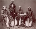 KITLV - 103793 - Men at Singapore, probably from the Middle East - circa 1890.tif